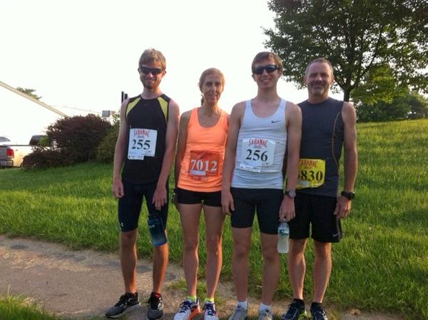 Brendan, Maureen, Patrick,  & Danny